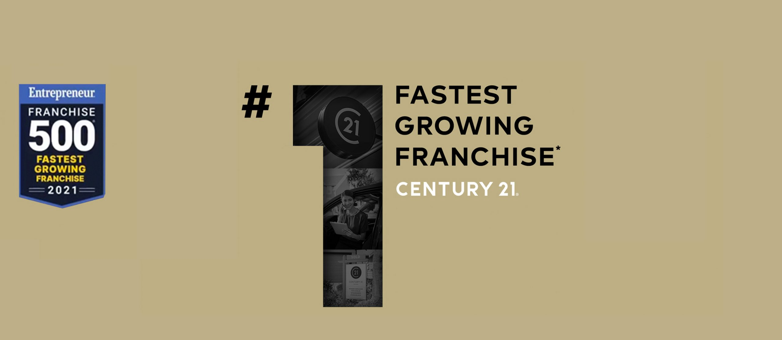 C21 is the #1 Fastest Growing Franchise