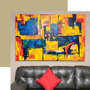 Hang a Bold Painting