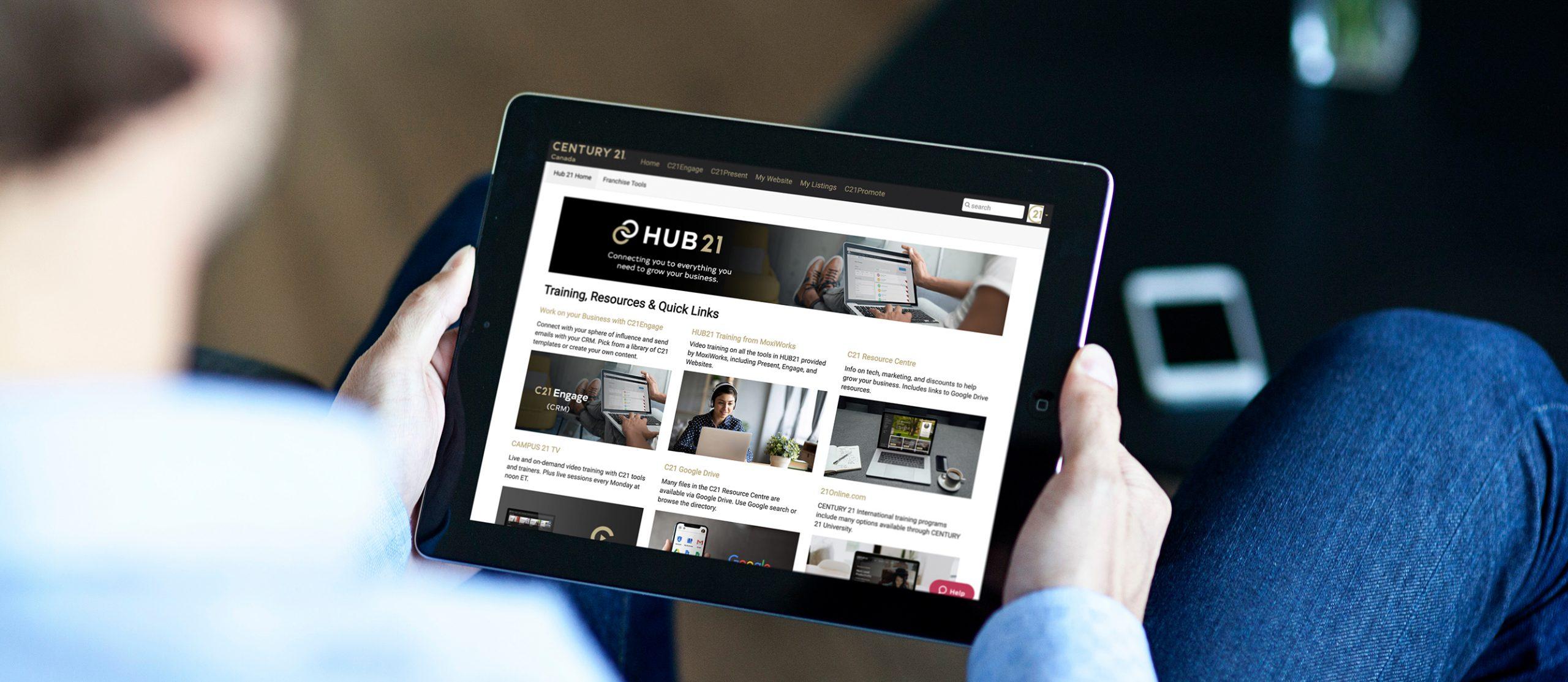 HUB21 iPad