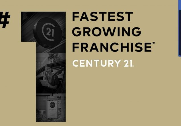 CENTURY 21 named fastest growing franchise